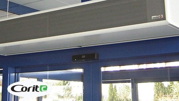 نصب دستگاه پرده هوا